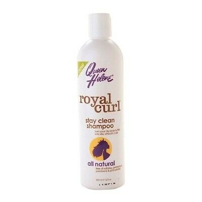 Queen Helen royal curl stay clean shampoo 12 oz pack of 2
