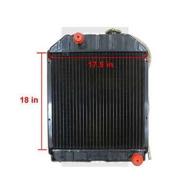 Ford New Holland Radiator Part Wn-c7nn8005e For Tractor 4100 5000 5100 5600 6600