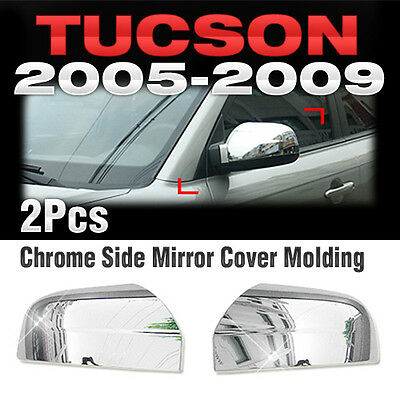 Chrome Side Mirror Cover Garnish Molding A368 For HYUNDAI 2005-2008 2009 Tucson