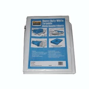 Western Rugged 40ft x 60ft Tarp -White-brand New