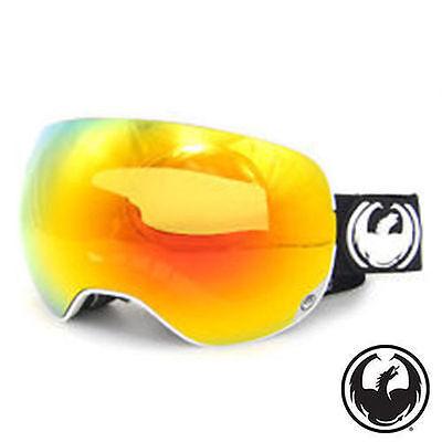 DRAGON APXS Ski Snowboard Goggle Inverse/ Red Ionized+Yellow Lens $180 £175 (Dragon Apx Lenses)