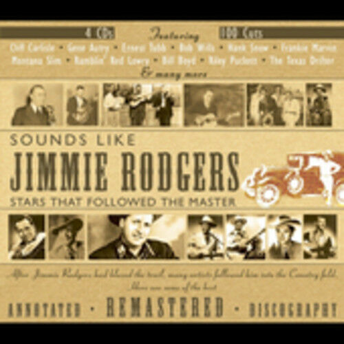 Various Artists - Sounds Like Jimmie Rodgers / Various [New CD] Boxed Set, Rmst