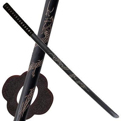 """Set of 2 40/"""" Dragon Datio Bokken Kendo Practice Sword"""