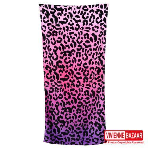 Ebay Vera Bradley Beach Towel: Leopard Beach Towel
