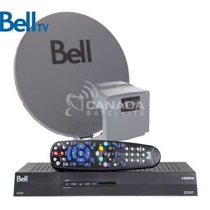 Campground season is coming, Bell Satellite seasonal package