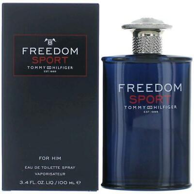 TOMMY HILFIGER FREEDOM SPORT 100ML EAU DE TOILETTE SPRAY BRAND NEW & SEALED