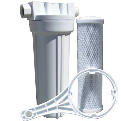 Watts 520021 Rv/Boat Single Exterior Water Filter With Garde