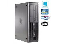 HP 8100 ELITE SFF DESKTOP PC i5 3.20GHz DDR3 6GB 500GB SATA