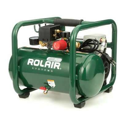 Rolair Plus 2.5 Gallon Portable Electric Air Compressor For Tirestools Used