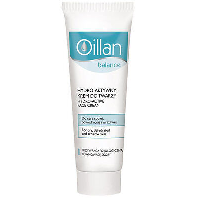 Aktive Haut-creme (Oillan Balance hydroaktive Gesichtscreme , 50 ml trockene sensible Haut)