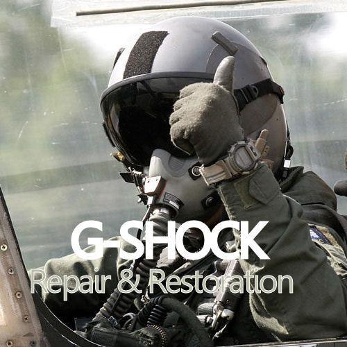 CASIO G-Shock, Pathfinder, Baby-G, Protrek - Watch Repair and Restoration