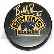 Boston Bruins Signed Puck