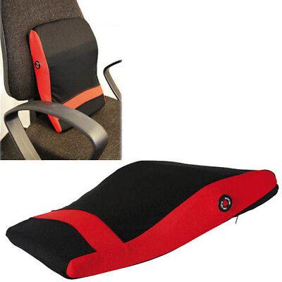 BACK MASSAGING MASSAGE RELAXING OFFICE PILLOW CHAIR CUSHION HOME CAR RELAX - Office Massage Chair