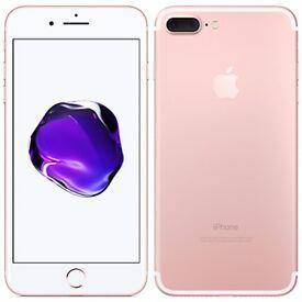 Apple IPhone 7 Rose Gold 256GB Unlocked Brand new.