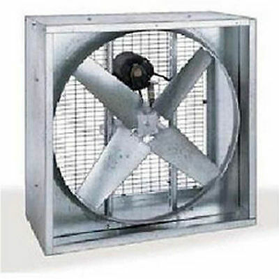 36 Agricultural Exhaust Fan - 10380 Cfm - Belt Driven - 115230 Volt - 12 Hp