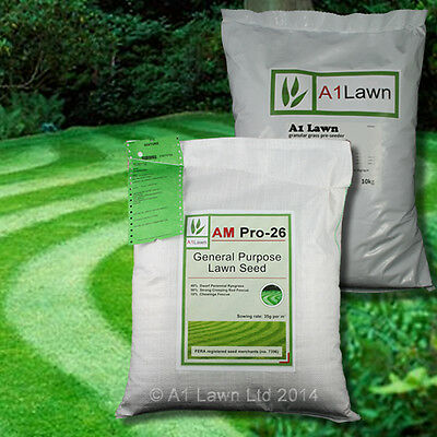 GENERAL PURPOSE GRASS SEED 10kg & PRE-SEEDER FERTILISER 10kg (MULTI-SAVE PACK)