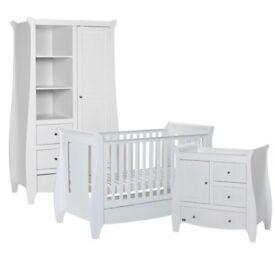 White tutti bambini katie 3 piece set for sale