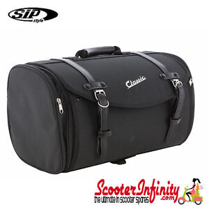 case top box roll bag vespa px gts gt gtv lx lambretta fits to any carrier 35l. Black Bedroom Furniture Sets. Home Design Ideas