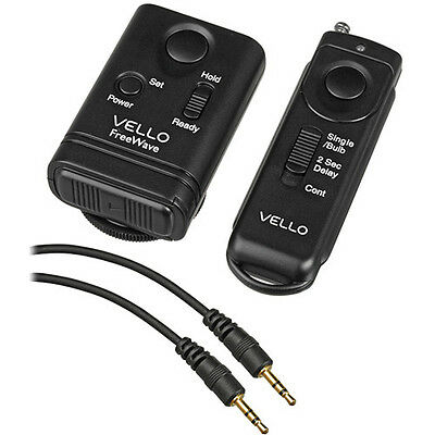 Vello FreeWave Wireless Remote Shutter Release for Canon and Panasonic Kit Shutter Release Kit