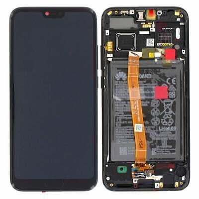 Pantalla Completa con Marco Negro y Bateria para Huawei Honor 10 Negra...