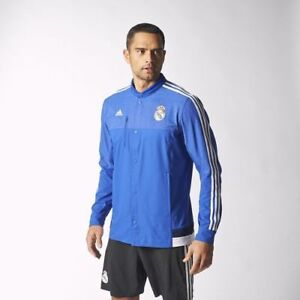 adidas Real Madrid Anthem Jacket (Ronaldo, Bale, Isco, Modric)