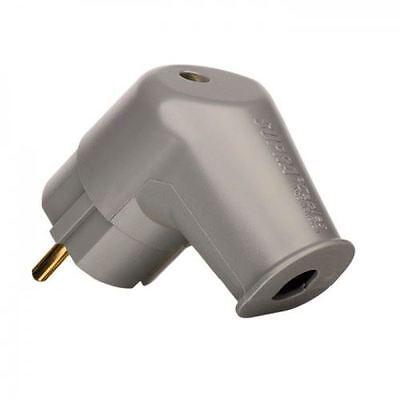 Supra LoRad SW-EU/A 90 Degree Angled Schuko EU Plug
