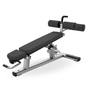 Life Fitness Adjustable Decline/Abdominal Crunch