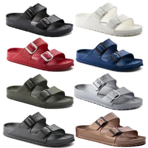 arizona eva double strap sandals slides mens