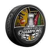 Chicago Blackhawks Hockey Puck