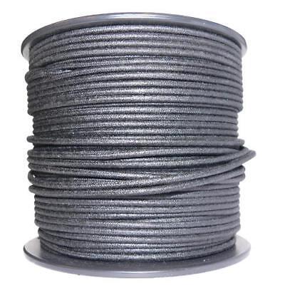 1M Algodón Trenzado Eléctrico Del Automóvil Cable 18 Calibre Negro
