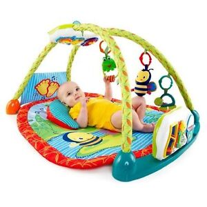 Bright Starts 2-in-1 Activity Mat and Table - Like New