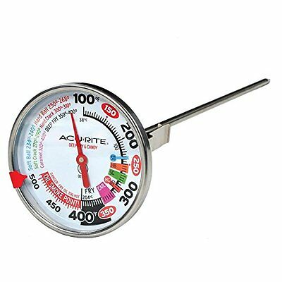 "ACURITE 12"" DEEP FRYER TURKEY POULTRY CANDY JAM KITCHEN BBQ THERMOMETER"