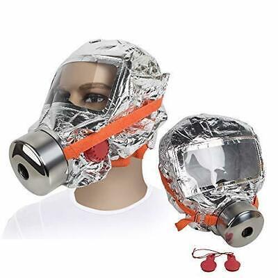 Fire Mask Emergency,Fencia Fire Escape Hood -30 Minutes Fire Escape Mask (Fire Escape Mask)