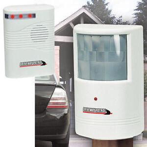 Driveway Patrol Alert Sensor wireless weatherproof Security Alarm system Deluxe