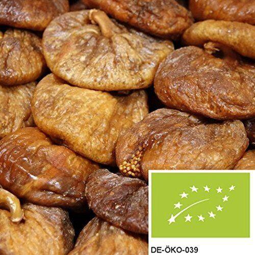 (€16,99/kg) 1kg BIO Feigen getrocknet, ungeschwefelt, Trockenfrüchte ungezuckert