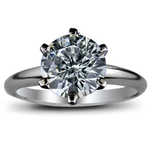 2 Carat Solitare Diamond Ring