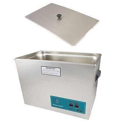 Crest Powersonic Ultrasonic Cleaner 5.25 Gallon Timer Heat P1800h-45 Basket