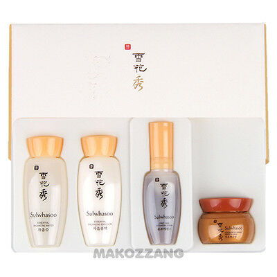 Amore Pacific Sulwhasoo Special Basic Kit 4 Items Set Anti-Aging Serum Skin Care