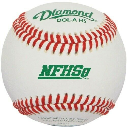 Diamond Dol-A HS  Baseballs 1 dozen (NFHS Stamp)