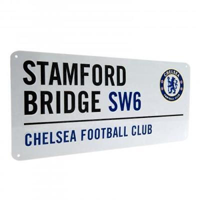 Chelsea FC  - Stamford Bridge Street Sign Chelsea Stamford Bridge