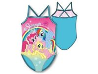 girls my little pony swimming suit 18mths to 5years