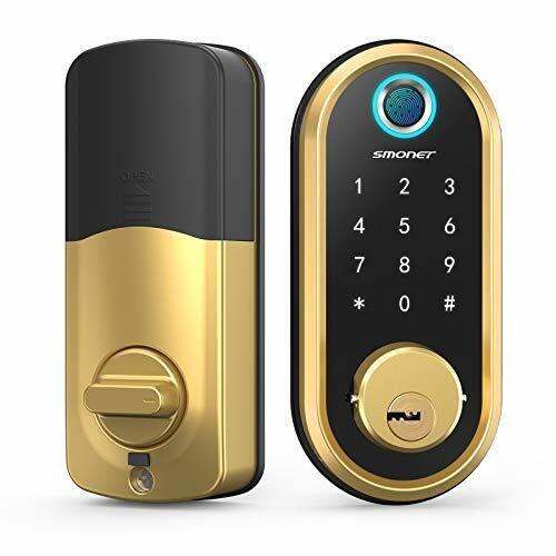 Smart Lock  Bluetooth Keyless Entry Keypad Smart Deadbolt-Fingerprint