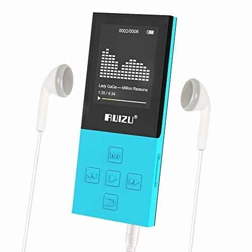 RUIZU X18 Mp3 Player with Bluetooth, Music Player with FM ra