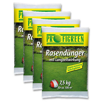 Rasendünger Langzeitwirkung 30kg Gartendünger Organisch Mineralisch (0,87 €/kg)