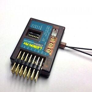 Lemon RX 7 Channel Receiver 3 Axis Gyro Stabilizer DSMX DSM2 End Pin Diversity
