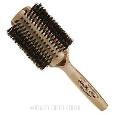 "Olivia Garden Bamboo Natural Boar Bristle Styling Brush 3.25"" - HHB-50"