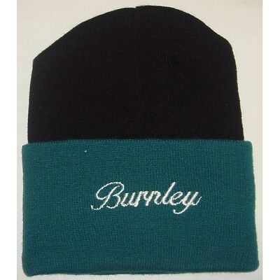 1.99 Mens  BURNLEY  Football Woolly Hat Beanie  One Size adult