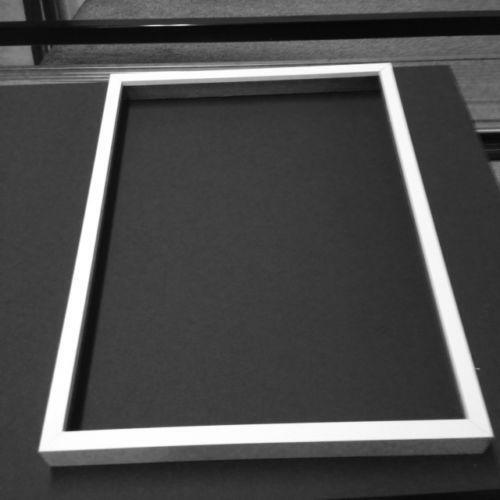 White Shadow Box Frame Ebay