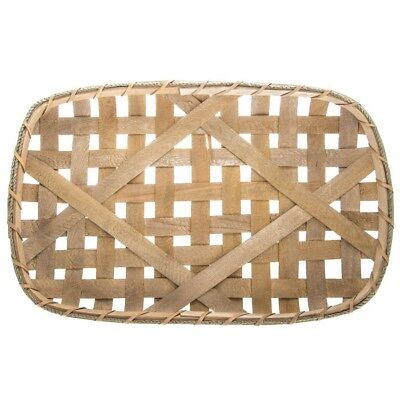 """Tobacco Basket Large 24"""" NEW Country Farmhouse Cabin Home Decor"""