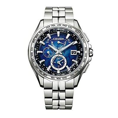 CITIZEN YELL COLLECTION Quartz Men's Watch ATTESA Eco-Drive Silver AT9098-51L